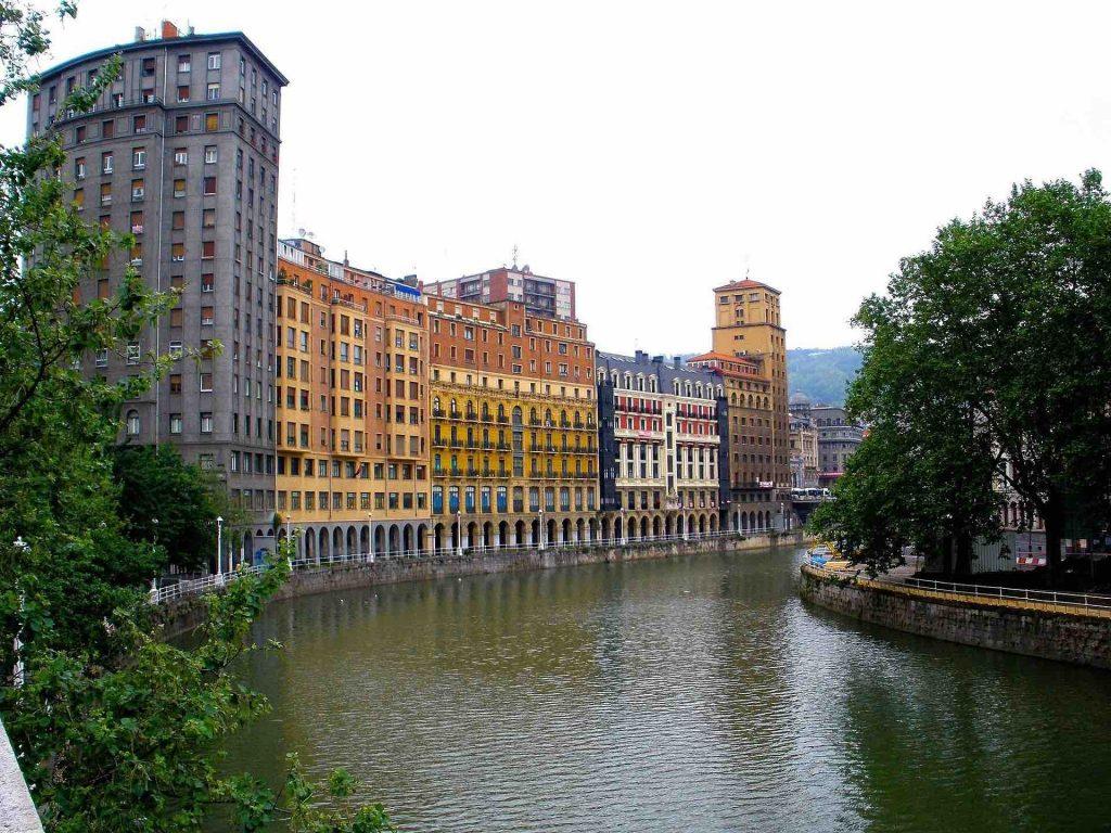 Bilbao Spain Canal