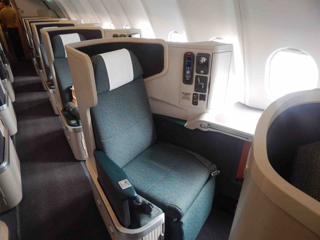 Spanair Business Class Seating