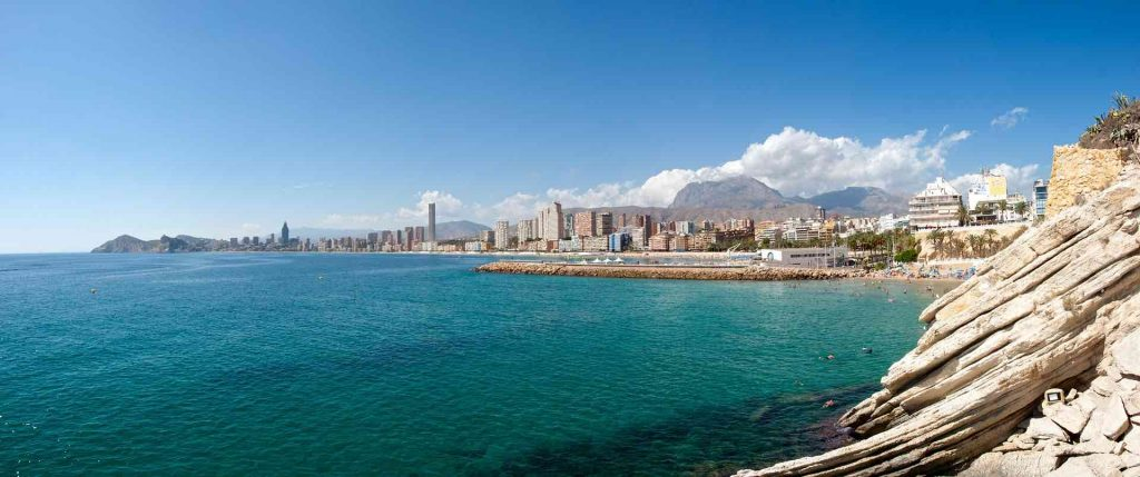 Costa Blanca wide angle photo