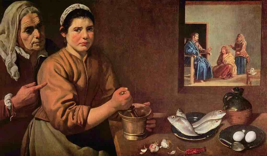 Painting by Diego Velazquez