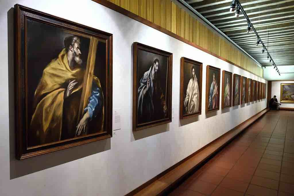 Paintings by El Greco in his museum