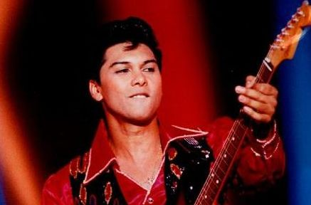 Picture of Ritchie Valens performing La Bamba