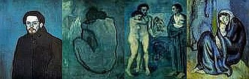 Picasso blue period