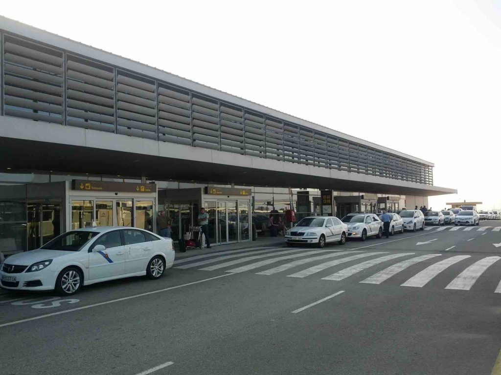 Exterior of Reus Airport