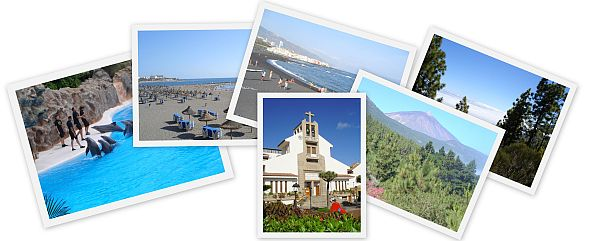 Collage of Canary Islands Tourist Attractions