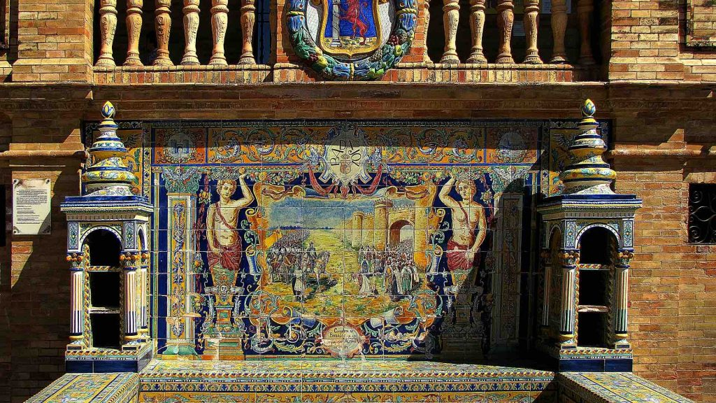 Spanish architecture and painting