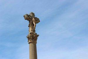 Spanish Cross against the blue sky