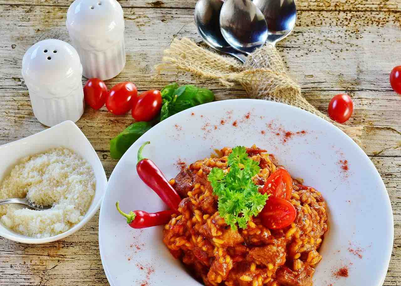Spanish rice and paprika from Murcia