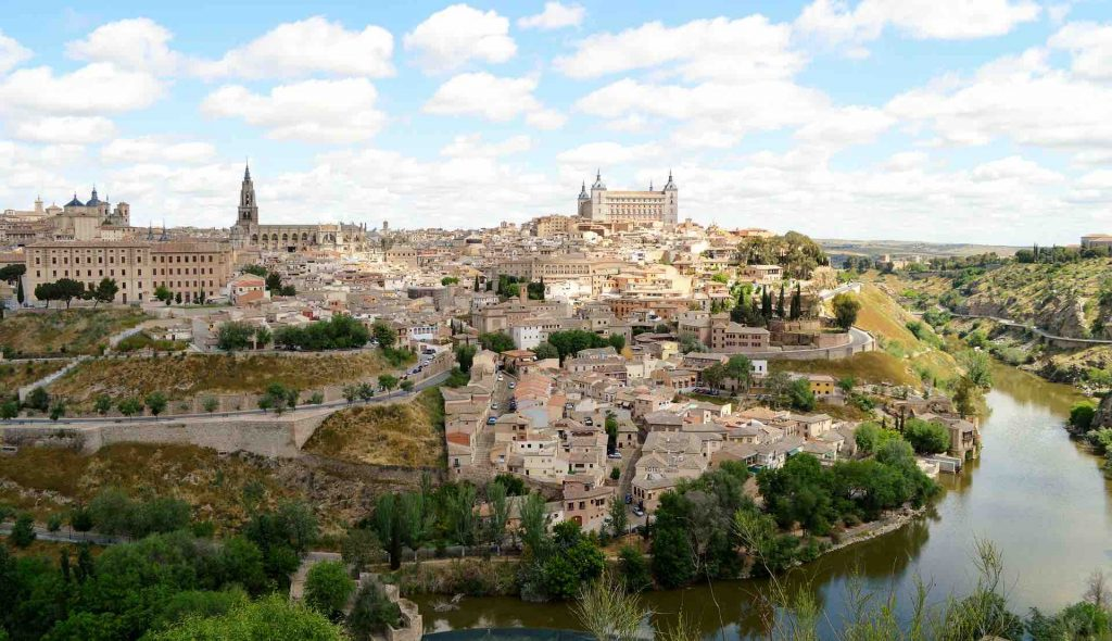 Landscape photo of Toledo, Spain