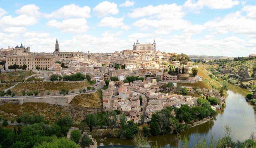Landscape photo of Toledo, Spain