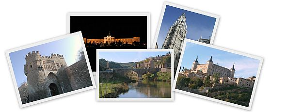Toledo Travel Photo Collage