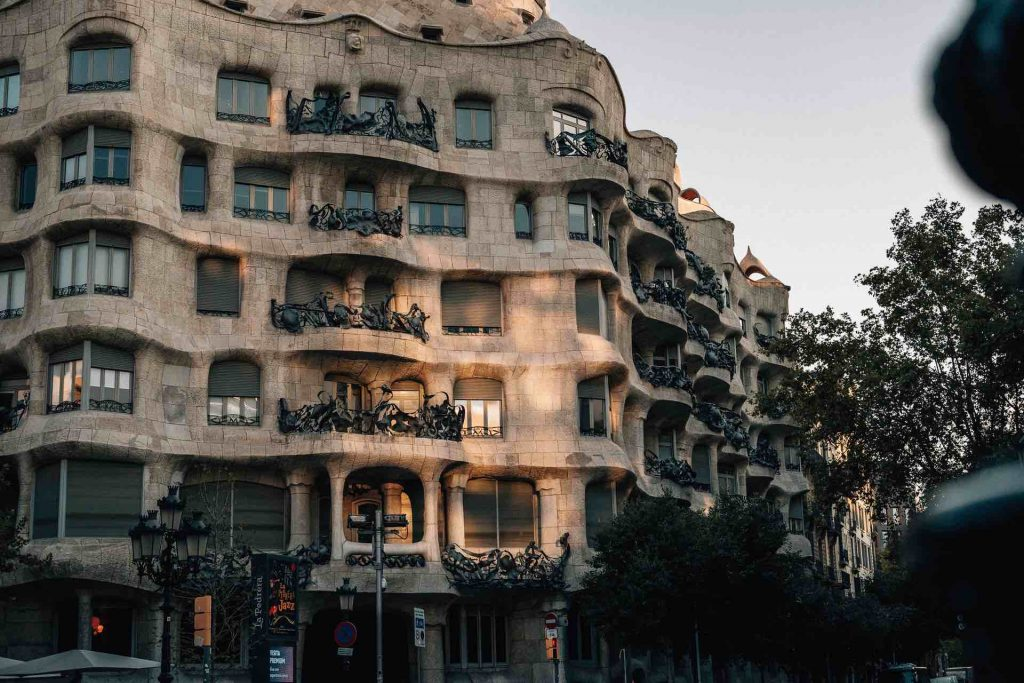 Casa Mila, by Antoni Gaudi